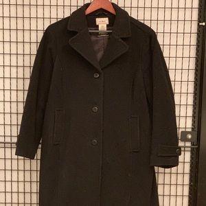 L.L.Bean long winter coat
